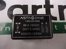 ASD03-12S3H Astrodyne 3 Watt DC/DC Converter Brand New!