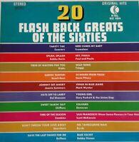20 Flashback Greats Of The 60s Vinyl LP.1973 K Tel NE 494.Kinks/Beach Boys/Byrds