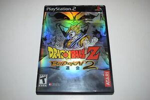 Dragon Ball Z Budokai 2 Playstation 2 PS2 Video Game Case w/ Artwork Only