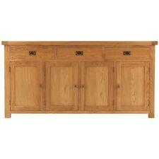 Medium Wood Tone Contemporary Sideboards, Buffets & Trolleys