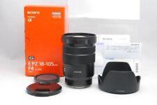 SONY SELP18105G E PZ 18-105mm F4 G PZ OSS G-Series Lens Japan Model  EMS F/S