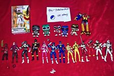 HUGE Power Rangers Lot Legacy Lightning Funko Collection