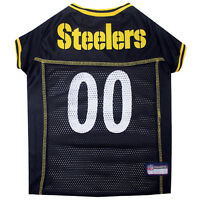 Pittsburgh Steelers Licensed NFL Pets First Dog Pet Mesh Jersey XS-XXL NWT
