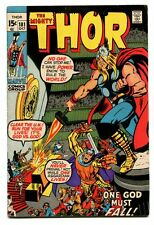 The Mighty Thor #181 - ''One God Must Fall'' - Neal Adams 1970 FVF WH