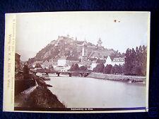 OLD ALBUMEN/CABINET CARD: SCHLOSSBERG IN GRAZ