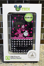 New Disney Parks Pop Dots MINNIE MOUSE HTC Evo 4G Android Smartphone Clip Case
