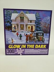 """Bits and Pieces 300 Large Piece Glow in the Dark """"The Greatest Gift"""" Puzzle"""