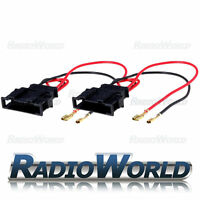 VW Volkswagen Golf MK4 Polo Passat Bora Speaker Adaptor Lead Cable PC2-807 Pair