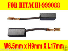 Carbon Brushes For Hitachi 999088 6.5X9X17mm P100F F-400 PDM-230 SAH-230 PS-15A