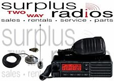 Vertex VX-2200 VHF 134-174MHZ 128CH 50W Mobile Radio Fire Police Chase Car kit