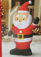 New 3.6' LED SANTA INFLATABLE Lighted Christmas Gemmy Airblown Decoration