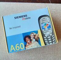 ≣ old SIEMENS A60 retro vintage rare phone mobile BRAND NEW