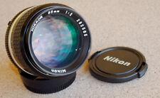 Nikon Nikkor 85mm F2 AIS Manual Focus lens AI-S digital film SLRs EXC