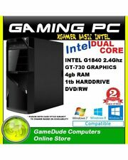 Tower Intel Dual Core Desktop & All-In-One PCs