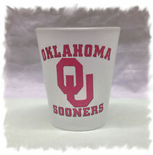 University of Oklahoma Sooners Frosted Shot Glass
