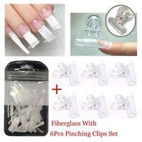 verlängerung fibra verlängern - tool lange glasfaser mit nagel durch clips