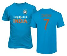 Cricket India Jersey Style Dhoni 7 Men's T-shirt