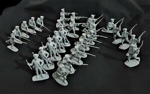 AIRFIX 1970'S VINTAGE FRENCH LINE INFANTRY 1815,  29 FIGURES FULL SET # 15.