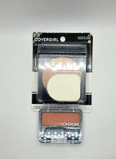 2lot COVERGIRL Clean Powder Foundation # 515 and CoverGirl Cheekers Blush #130