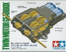 TAMIYA RIDUTTORE DI GIRI DOPPIO MOTORE EDUCATIONAL TWIN-MOTOR GEARBOX  ART 70097