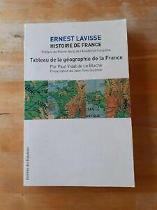 Histoire de France, vol.1 - Ernest Lavisse - Ed des Equateurs