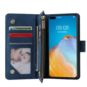 For Huawei P40 Pro P40Lite P30 Mate30 For Honor 10i 20i 20Lite 20Pro Wallet Case