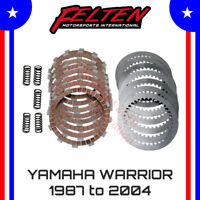 Yamaha Big Bear 350 4x4 Heavy Duty Clutch Kit Discs Disks Plates Springs 87-93