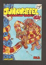 1973 Junkwaffel #3 ~ Vaughn Bode 2nd Print Underground Comic ~ Fine+ (Adult)