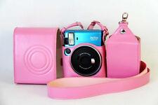 2016 New PU Leather Camera Bag Case Cover for Fujifilm Fuji Instax Mini 70 Pink