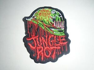 JUNGLE ROT DEATH METAL EMBROIDERED PATCH