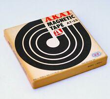"AKAI Demonstration Magnetic Tape Reel AKAI M8 M-8 Recorder Akai AT-5S 5"" Box"