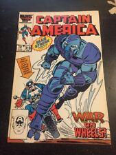 Captain America#318 Incredible Condition 9.4(1986) Death Adder Death!!