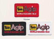 AGIP Aufnäher Patches 3 Stück Racing Team Motorsport Rennsport TURBOVERSAND