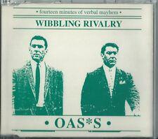 "OASIS - WIBBLING RIVALRY ""FOURTEEN MINUTES OF VERBAL MAYHEM"" 1995 UK CD SINGLE"