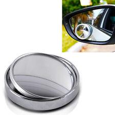 Car 360°Wide Angle Rear Side Mirror Convex Blind Spot Mirror Adjustabe Accessory