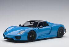 Autoart 77924 - 1/18 Porsche 918 Spyder (2013) - Riviera Blue