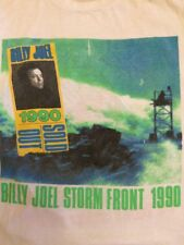 Vtg Billy Joel Concert Tour T Shirt Storm Front 1990 Sold Out Giants Stadium M