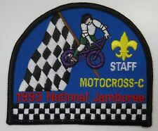 1993 National Jamboree Motocross - C STAFF Patch [G1019]