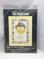 Monarch Horizons Counted Cross Stitch Flying High Birth record 1988