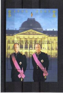 BELGIUM 2003 king baudouin and albert II MNH** BLOK 105