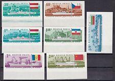 Ungarn 1967 postfrisch MiNr. 2323B-2319B    25. Session der Donaukommission