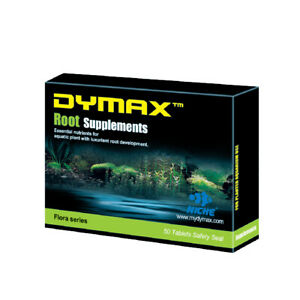 NEW DYMAX ROOT SUPPLEMENTS 50-TAB PLANT NUTRIENTS AQUASCAPE TANK AQUARIUM SHRIMP