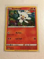 Pokemon TCG Black Star Promo - Scorbunny SWSH071 Holofoil Card
