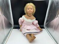 Sigikid Ilse Wippler Vinyl Puppe 61 cm. Top Zustand