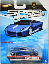 HOT WHEELS 2012 SPEED MACHINES REVENTON ROADSTER BLUE