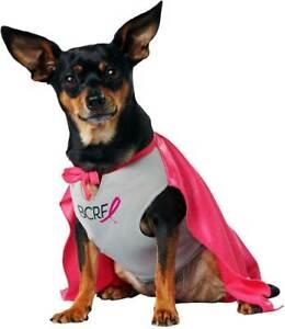 Superhero Bcrf Pet Dog Costume Logo Cape Top Each Sale Will Donate $1 To Bcrf
