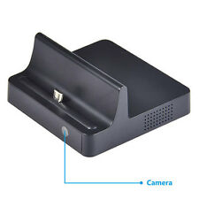 Mini 720P SPY DV HD Hidden Camera Phone Charging Dock Motion Detection Video Cam