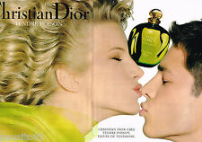 PUBLICITE ADVERTISING 065  1994  DIOR  parfum TENDRE POISON ( 2pages)
