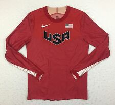 Nike Racing Elite Pro Sponsored USA Olympic Turbospeed Swift Running Shirt Large