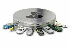 Hornby Corgi Toys James Bond Fit The Box TY99135 8-Piece Film Can Car Set